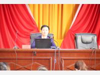 杨珂律师受文山州律师协会邀请作关于青年律师的主题分享